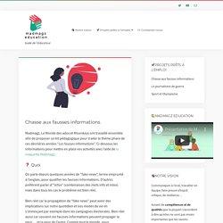 Chasse aux fausses informations – Guide de l'éducateur