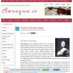 Faustina Maratti Zappi, vita e poetica