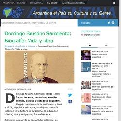 Sarmiento : Vida y obra