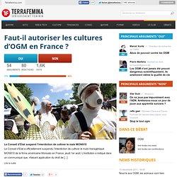Faut-il autoriser les cultures d'OGM en France