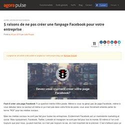 Faut-il créer une page Facebook ?