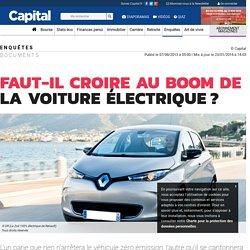 Faut-il croire au boom de la voiture électrique