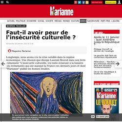 Faut-il avoir peur de l'insécurité culturelle ?