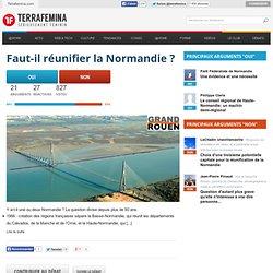 Faut-il réunifier la Normandie?