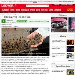 Il faut sauver les abeilles - 07/10/2014