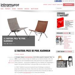 Le fauteuil PK22 de Poul Kjaerholm - 16/01/17