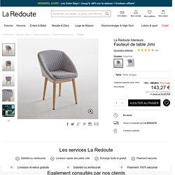 Fauteuil de table jimi La Redoute Interieurs
