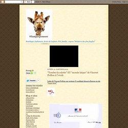 Exemple : une correspondance privée sur un blog (Lettre de V. Peillon aux rectorats)
