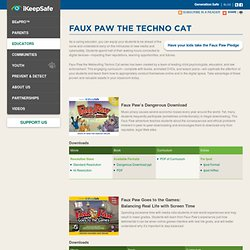 Faux Paw the Techno Cat