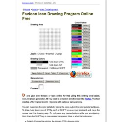 Favicon Icon Drawing Program Online Free