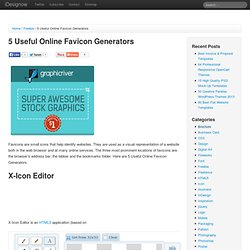 5 Useful Online Favicon Generators