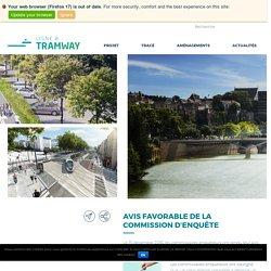 Tramway ligne B - Angers Loire Métropole