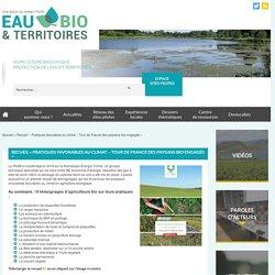 Recueil « Pratiques favorables au climat – Tour de France des paysans bio engagés »
