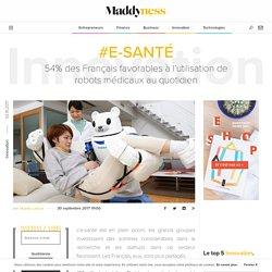 #E-santé : 54% des Français favorables à l'utilisation de robots médicaux au quotidien - Maddyness