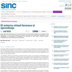 El entorno virtual favorece el aprendizaje