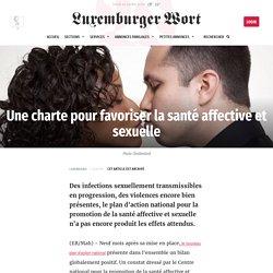 Une charte pour favoriser la santé affective et sexuelle