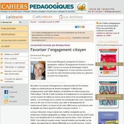 Favoriser l'engagement citoyen