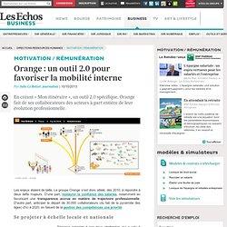 Orange : un outil 2.0 pour favoriser la mobilité interne