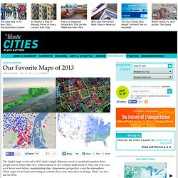 The Most Innovative Maps of 2013 - Emily Badger