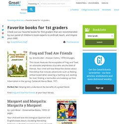 Favorite books for 1st graders Book lists