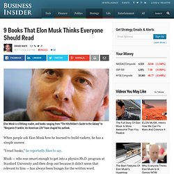 Elon Musk Favorite Books