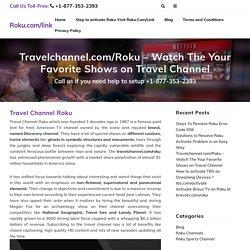 How To Fix travelchannel.com/roku