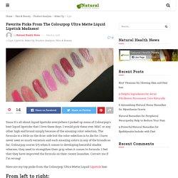 Favorite Picks From The Colourpop Ultra Matte Liquid Lipstick Madness!