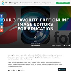 Our 3 Favorite Free Online Image Editors For Education