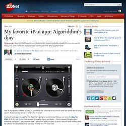 My favorite iPad app: Algoriddim's djay