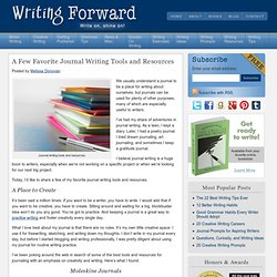 9 Journal Writing Tools and Resources | Journal Writing