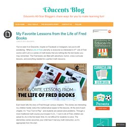 My Favorite Lessons from the Life of Fred Books - Educents Blog
