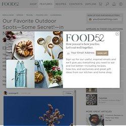 Our Favorite Outdoor Spots—Some Secret!—in N.Y.C.