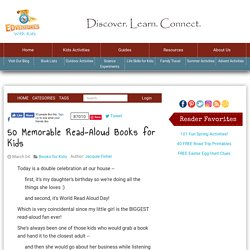 50 Favorite Read Aloud Picture and Chapter Books - Edventures with Kids