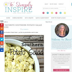 Favorite Southern Potato Salad Recipe