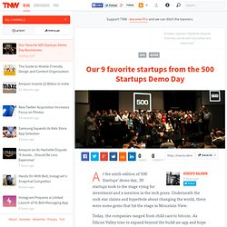 Our Favorite 500 Startups Demo Day Businesses
