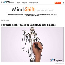 Favorite Tech Tools For Social Studies Classes