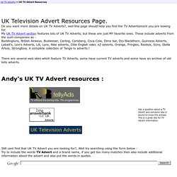 Absolute Andy - UK TV Ads