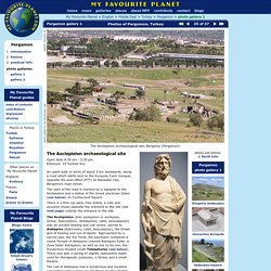 My Favourite Planet - The Asclepieion Bergama Turkey