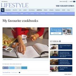 My favourite cookbooks, Food News