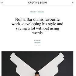 Noma Bar on his favourite work, developing his style and saying a lot without using words