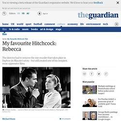 My favourite Hitchcock: Rebecca