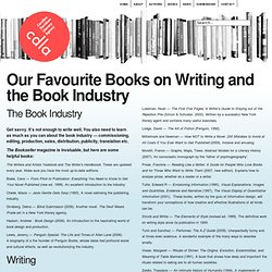 Our Favourite Books on Writing and the Book Industry « CDLA