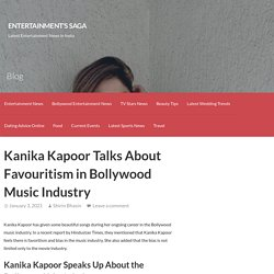 Kanika Kapoor Talks About Favouritism in Bollywood Music Industry