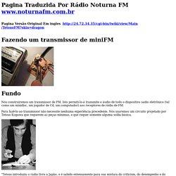 Fazendo um transmissor do miniFM