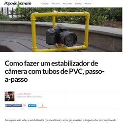 Como fazer um estabilizador de câmera com tubos de PVC, passo-a-passo