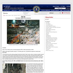 1993 World Trade Center Bombing - Press Room - Headline Archives - 02-26-08