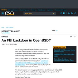 An FBI backdoor in OpenBSD?