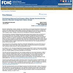 Press Releases - PR-110-2011 6/24/2011