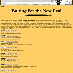 FDR Project: Waiting For the New Deal