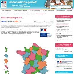 FDVA : le lancement de la campagne 2015